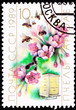 Soviet Stamp Cherry Blossom Bee Hive Cultivation Pollination