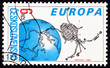 Stamp Czech Magion 2 Earth Magnetospher Ionosphere Satellite