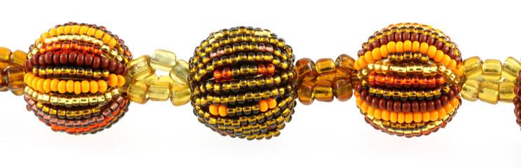 boules et perles de collier, fait-main artisanal