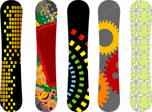 Snowboard design pack - see portfolio for more