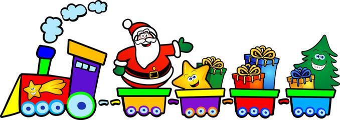 Il treno di Babbo Natale
