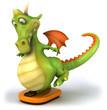 Gros dragon et balance