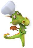 Fototapety Chef dragon