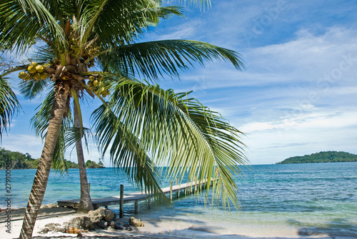 Leinwanddruck Bild Isla, Bocas del Toro, Panama.
