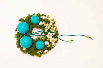 Wreath for advent