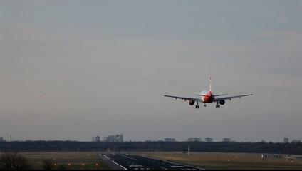 Landung am Airport
