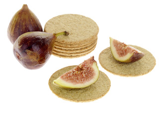 Oat Cakes with Figs