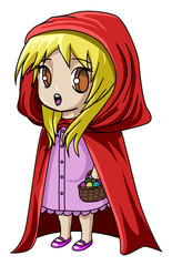Little Red Riding Hood - No Background