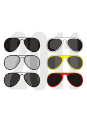 Collection of sunglasses trend 2011 - fashion, sports, beauty