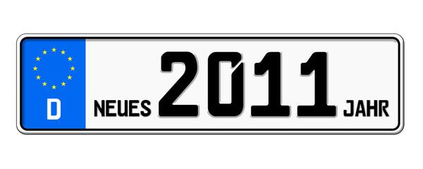 Autokennzeichen 2011