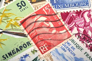 timbre, 15 francs