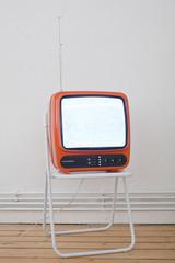 Fernseher Retrostyle Orange