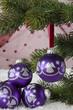 Lila Weihnachtskugeln-1