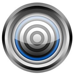 Zielscheibe Button