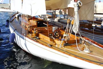 Classic Yacht in Saint Tropez, France