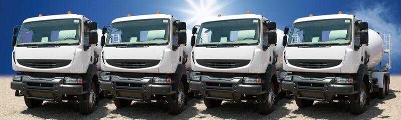 trucks park