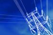 Pylône et ligne haute tension - 27935429