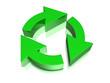 Recyclingsymbol 3D