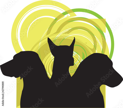 Dogs illustration