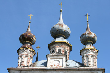 Cathedral in Yuriev-Polsky Russia