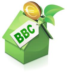 Investir dans une maison BBC (reflet)