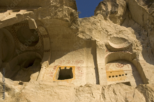 Goreme - Karanlik Kilise or Dark Church exterior, Cappadocia