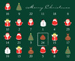 Holy christmas calendar