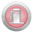 "Light Colored Icon (Red) ""Gas Pump / Fuel Dispenser"""