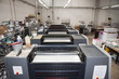 Press printing (printshopt) - Offset machine