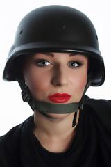 Portrait of  policewoman!