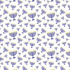 Hanukkah Menorah Background