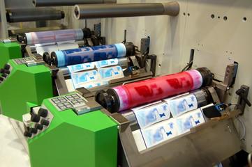 UV flexo press