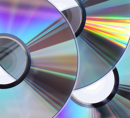 Three CD / DVD disks