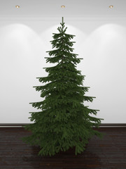 3D Christmas tree to decorate