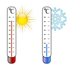Termometri caldo freddo