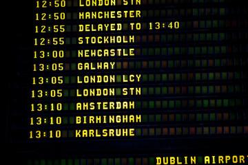 Dublin timetable