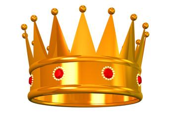 Golden king's/queen's crown