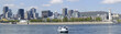 Montreal skyline, panoramic view, Quebec, Canada