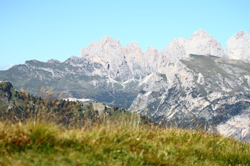View of Great Cir, from Sella refuge