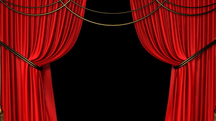 Red Curtain Opens