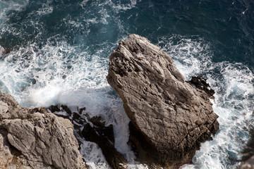 Fels am Meer