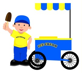 Ice Cream Seller