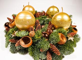 Close-up wreath