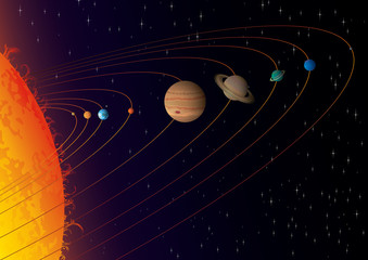"Solar System. ""Full compatible, gradients."""
