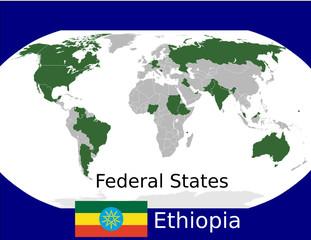 Ethiopia federal states union sovereign political