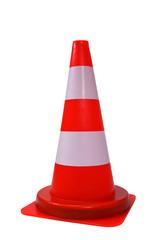 Orange cone isolated