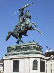 Reiterdenkmal Erzherzog Karl