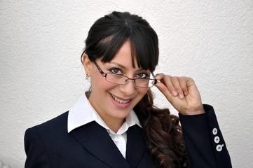 Geschäftsfrau und Beratung