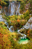 Fototapety Waterfalls in Plitvice Lakes National Park