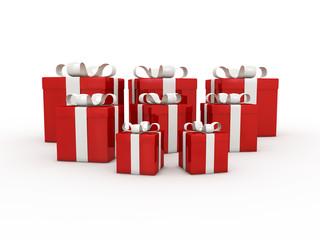 cadeaux rouges